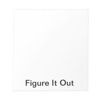 Figure It Out Notepad