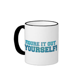 Figure it Out Ringer Coffee Mug