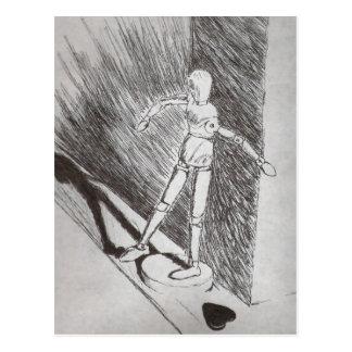 Figure Model Post Card