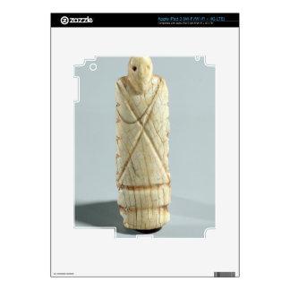 Figure of a bearded man (elephant ivory) iPad 3 skin