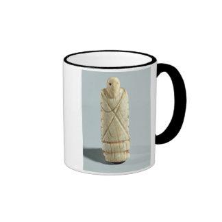 Figure of a bearded man (elephant ivory) coffee mugs