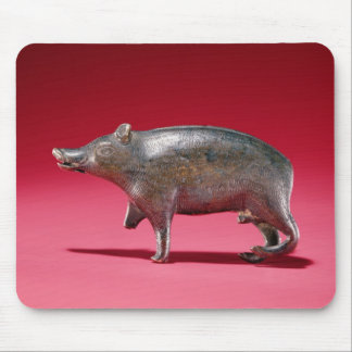 Figure of a Boar Mouse Pad