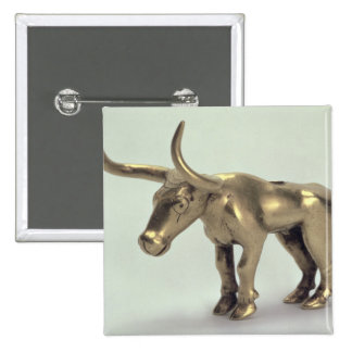 Figure of a bull button