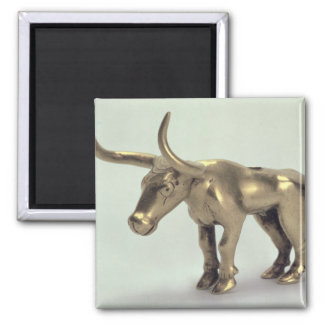 Figure of a bull refrigerator magnets