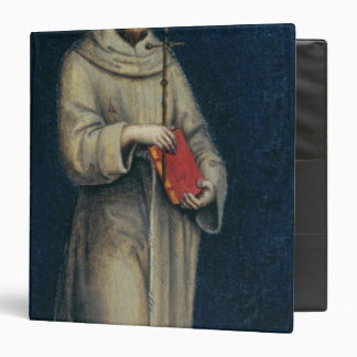 Figure of a Franciscan Monk 3 Ring Binder