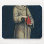 Figure of a Franciscan Monk Mouse Pad