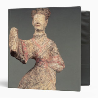 Figure of a male dancer, tomb artefact binder
