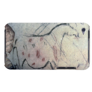 Figure of a pregnant mare with parallel line marki Case-Mate iPod touch case