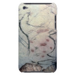 Figure of a pregnant mare with parallel line marki iPod touch case