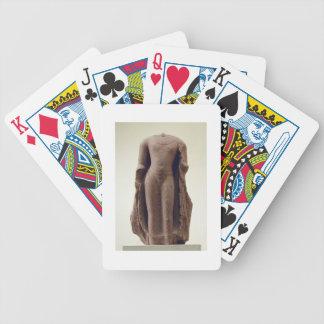 Figure of a standing Buddha, Jamalpur, Mathura (re Bicycle Playing Cards