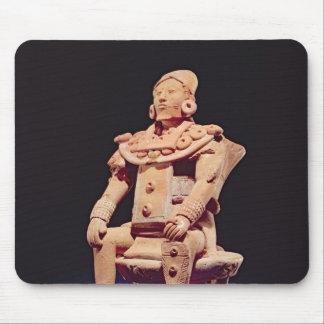 Figure of a warrior in full regalia mousepads