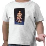 Figure of a warrior in full regalia tshirt