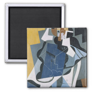Figure of a Woman, 1917 2 Inch Square Magnet