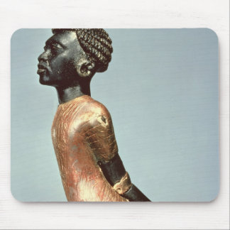 Figure of an African man from end of Mouse Pad