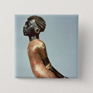 Figure of an African man from end of Pinback Button