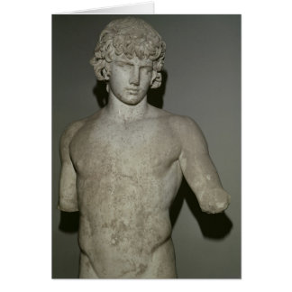 Figure of Antinous, after 130 AD Card