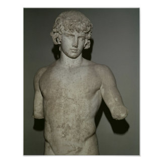 Figure of Antinous, after 130 AD Poster
