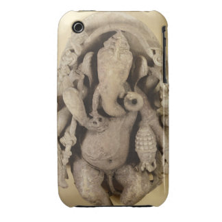 Figure of Ganapati, Chandella Dynasty (sandstone) iPhone 3 Case-Mate Cases