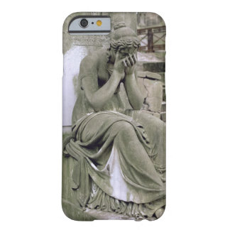 Figure of Grief, from the tomb of Pierre Gareau (d Barely There iPhone 6 Case