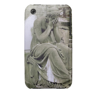 Figure of Grief, from the tomb of Pierre Gareau (d iPhone 3 Case