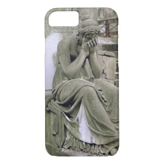 Figure of Grief, from the tomb of Pierre Gareau (d iPhone 7 Case