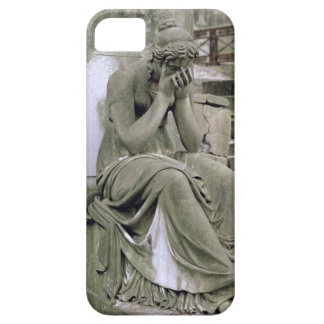 Figure of Grief, from the tomb of Pierre Gareau (d iPhone SE/5/5s Case