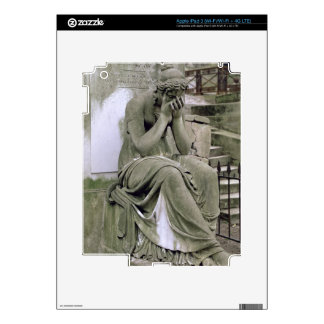 Figure of Grief, from the tomb of Pierre Gareau (d Decals For iPad 3
