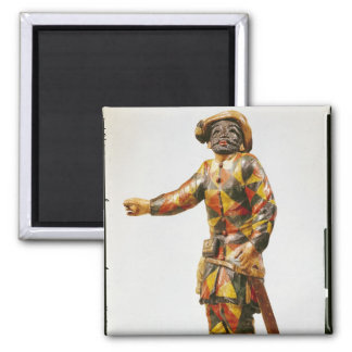 Figure of Harlequin from the Seraphin Theatre Magnet