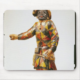 Figure of Harlequin from the Seraphin Theatre Mouse Pad