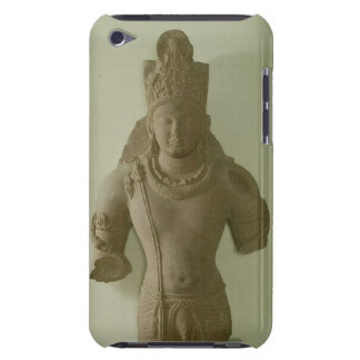 Figure of Lord Vishnu, Mathura (red sandstone) iPod Case-Mate Case