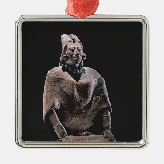 Figure of mayan seated king, from Isle ofJaina Metal Ornament