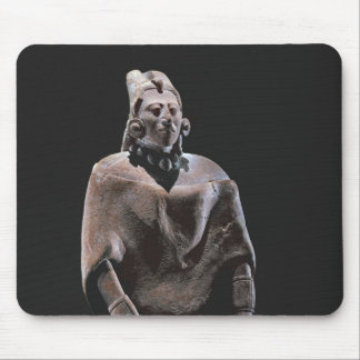 Figure of mayan seated king, from Isle ofJaina Mouse Pad
