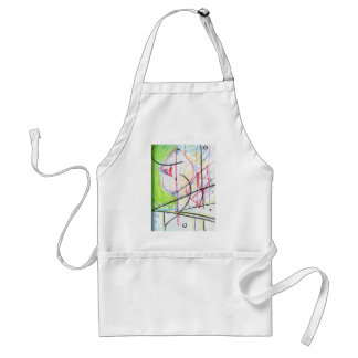 Figure of Planes Expression Adult Apron