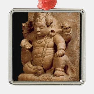 Figure of Siva as Vamana, Mansar Maharashtra (red Metal Ornament