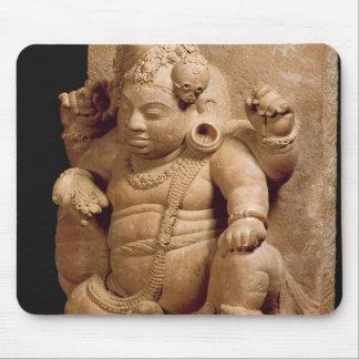 Figure of Siva as Vamana, Mansar Maharashtra (red Mouse Pad