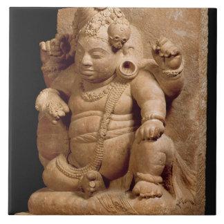 Figure of Siva as Vamana, Mansar Maharashtra (red Tile