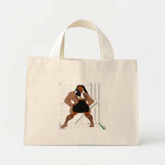 Figure Reference 2 (Paint.net) Mini Tote Bag