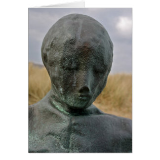 Figure Sculptures in South Shields Card