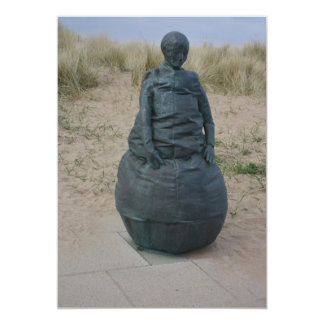 Figure Sculptures in South Shields Invitation