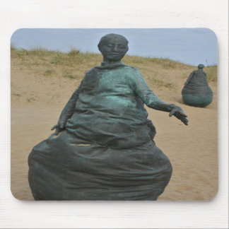 Figure Sculptures in South Shields Mouse Pad