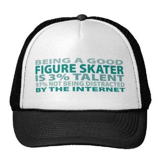 Figure Skater 3% Talent Trucker Hat