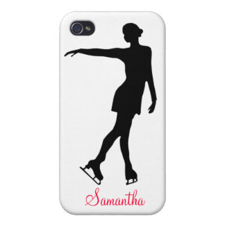 FIGURE SKATER & ADD YOUR NAME PHONE CASE