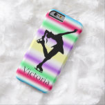 Figure Skater COLORFUL Personalized iphone 6 case