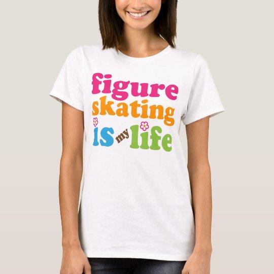 Figure Skater Gift Girls T-Shirt
