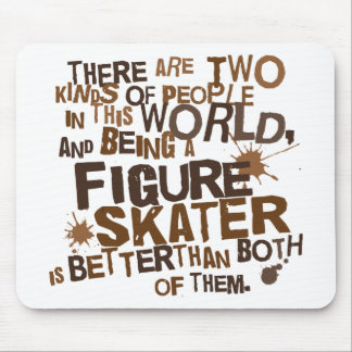 Figure Skater Gift Mouse Pads