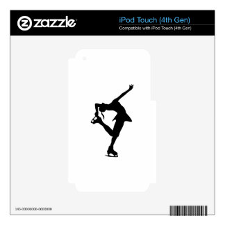 Figure Skater iPod Touch 4G Decal