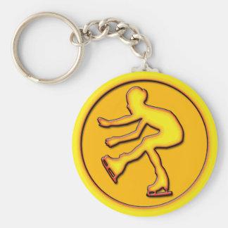 Figure Skater Keychain
