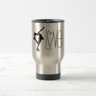 Figure Skater Love Travel Mug