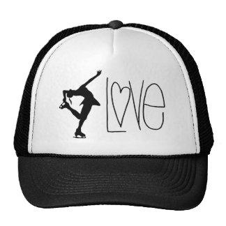 Figure Skater Love Trucker Hat