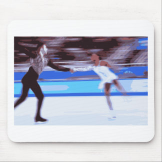 Figure Skater Mouse Pad
